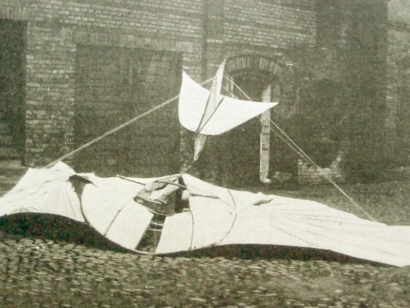 Tödlicher Unfall Otto Lilienthal