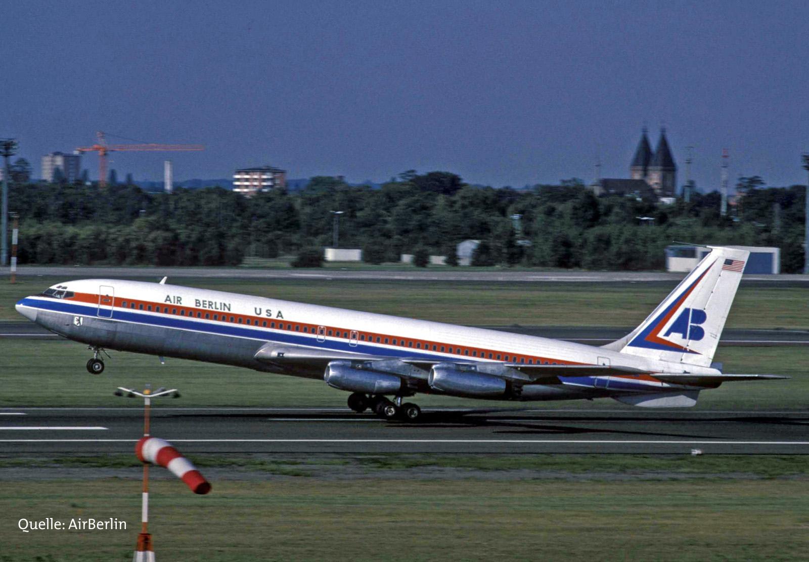Boeing 707 beim Start