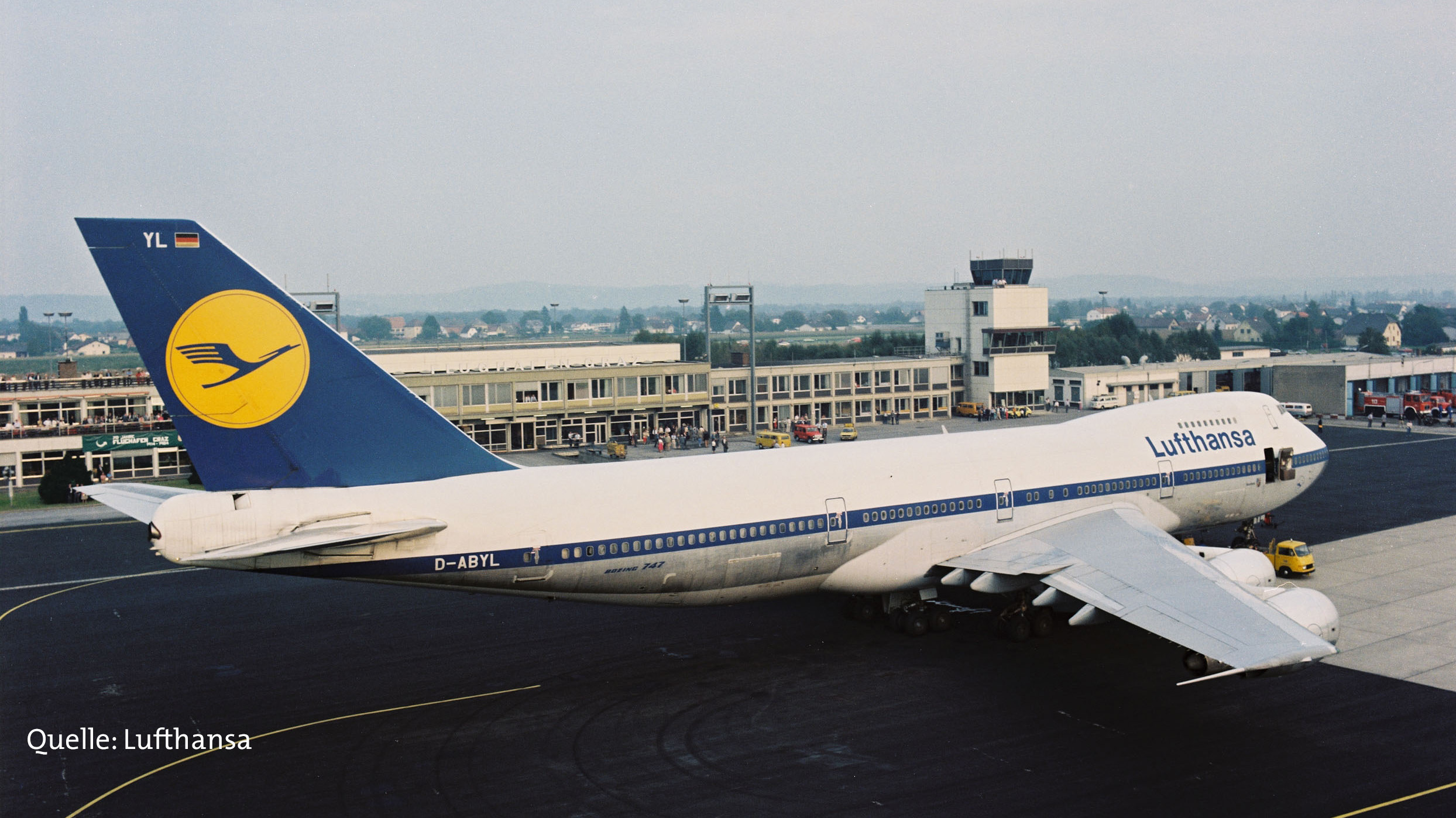 Boeing 747 der Lufthansa