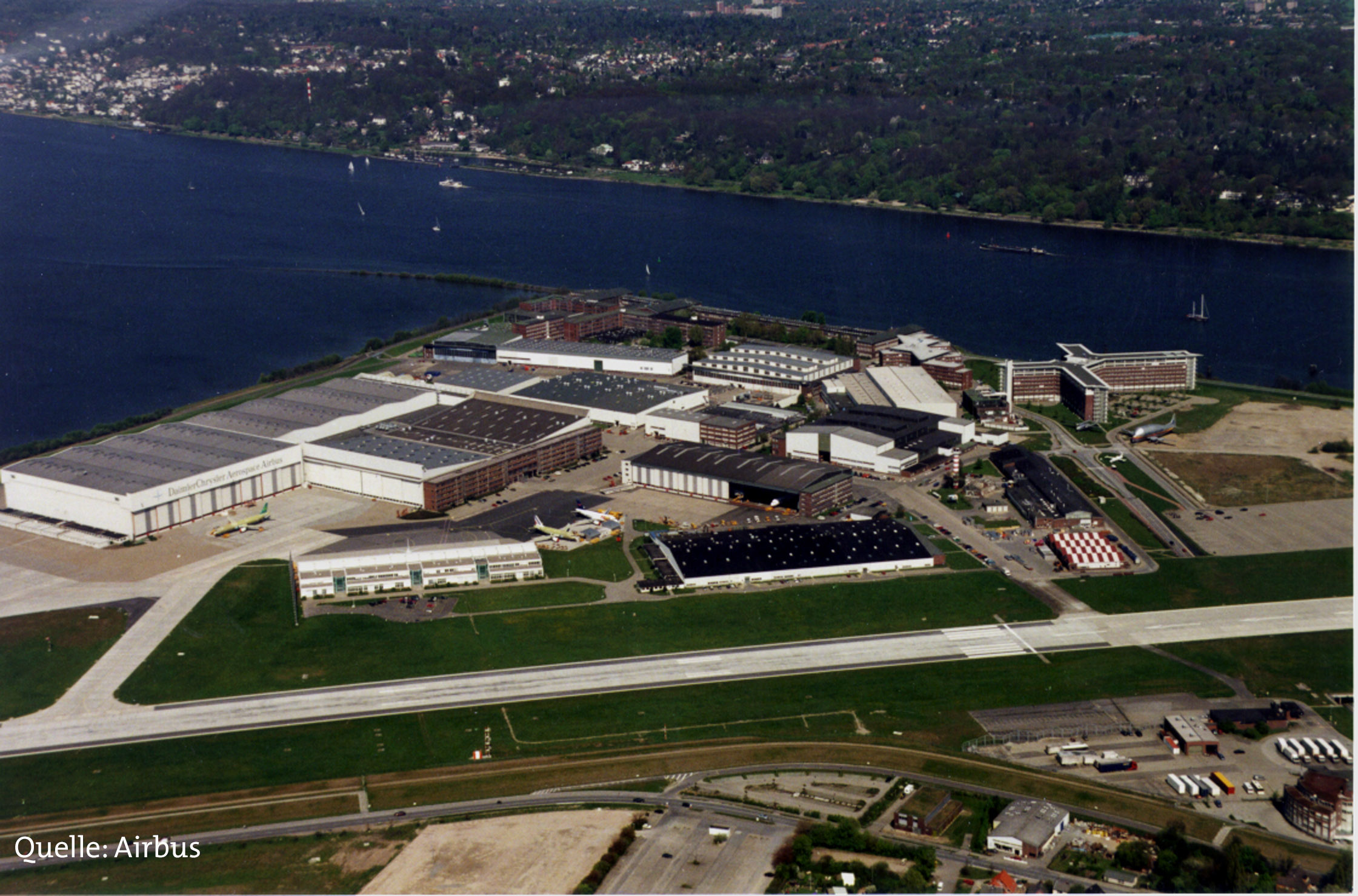 Airbus Industries in Hamburg