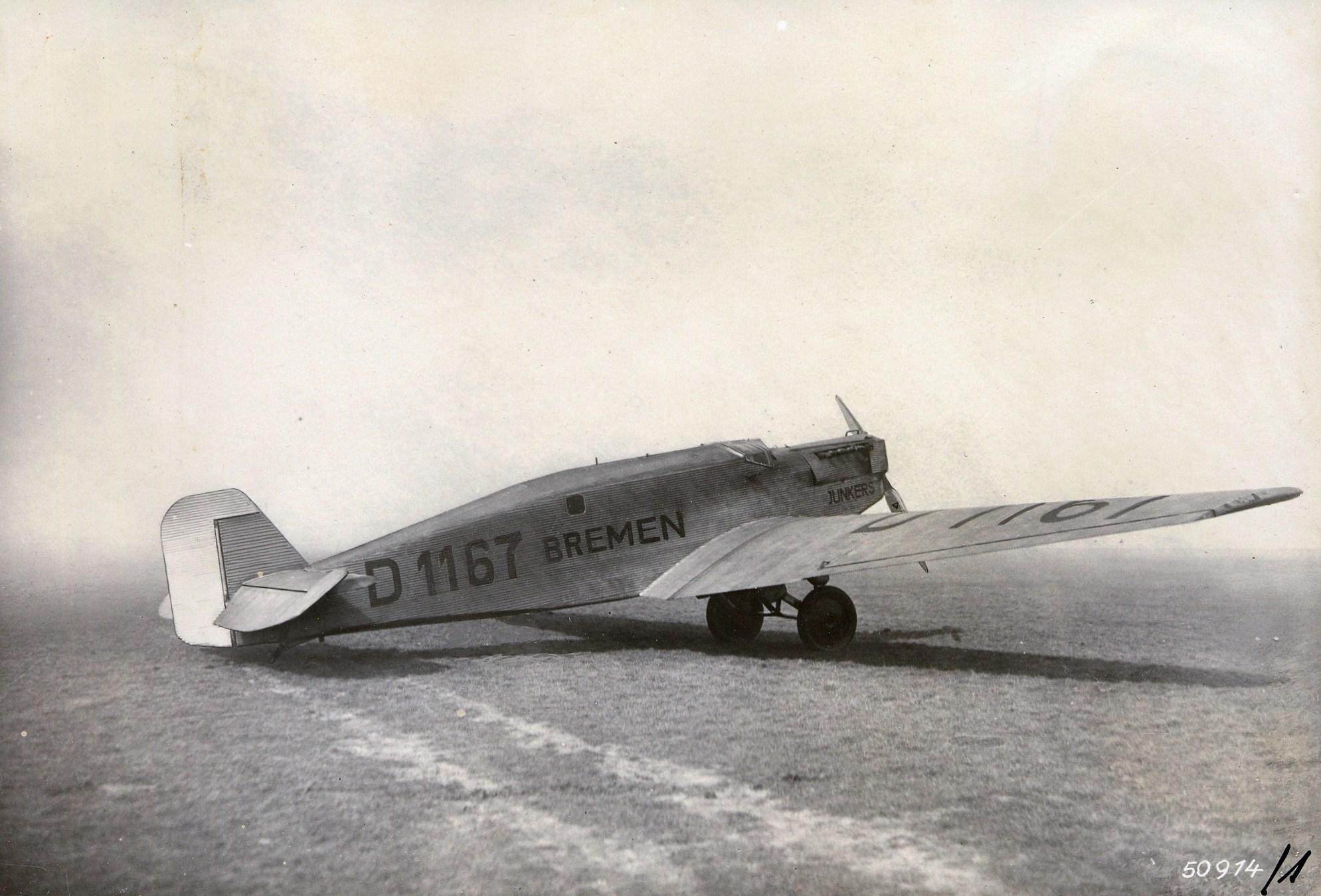 Erste Atlantiküberquerung der Luftfahrtgeschichte