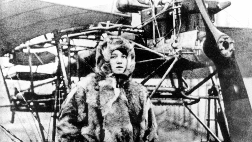 Amelie Hedwig Beese, erste Pilotin Deutschlands.