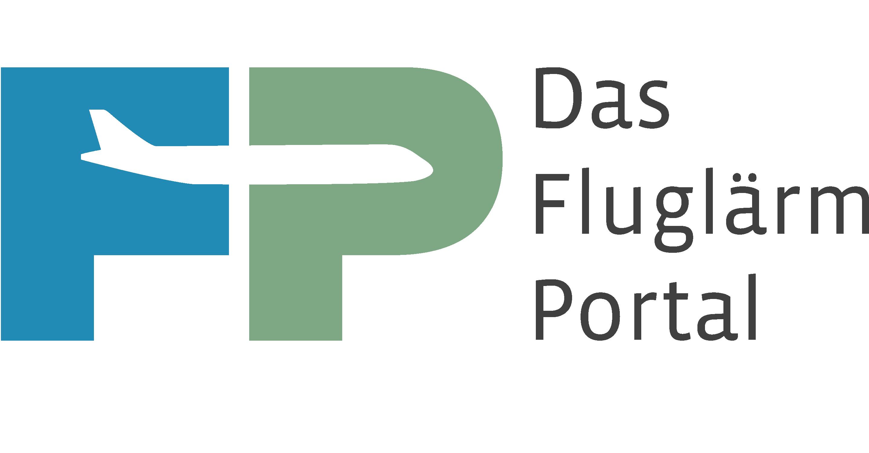 Logo - Das Fluglärm Portal