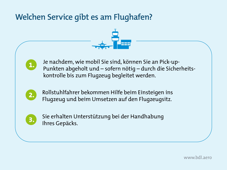 Barrierefreies Reisen mit dem Flugzeug: Welchen Service gibt es für PRM-Reisende am Flughafen?